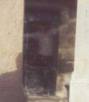 Ghost in the doorway