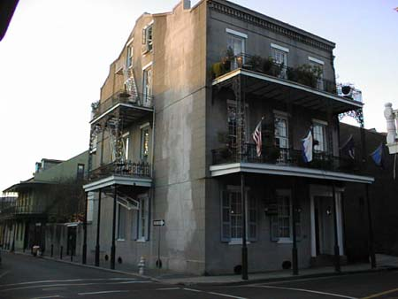 The Lafitte guest house