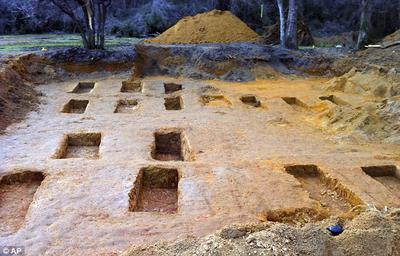 Mass Graves where the boys bodies were buried, some just dumped in shallow graves !