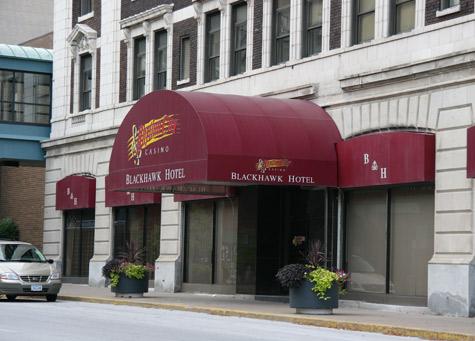 Blackhawk Hotel, Davenport
