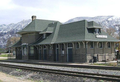 Brigham train depot