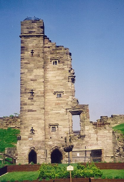 Tutbury Castle, Staffordshire