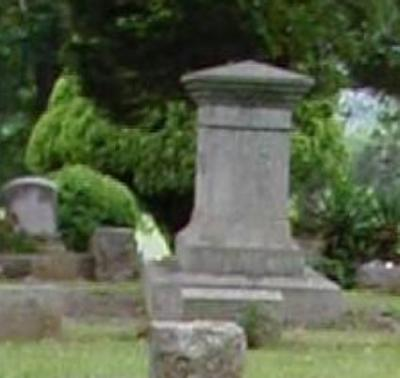 Close up of the little girl ghost at Cedar Hill Cemetery in Scottsboro, AL