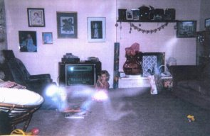Scary ghost picture