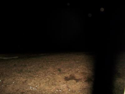 3 orbs above a graveyard