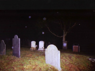Ghost Orbs Caught On Camera At Cemetery, Ghost Sightings