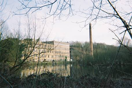 Pleasley Vale Mills, Nottinghamshire