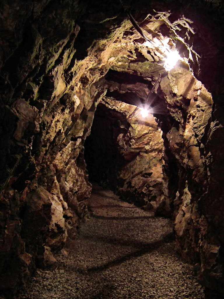 Is Reed gold mine in North Carolina haunted?