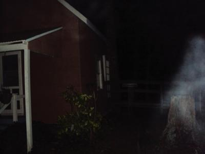 Caught this image at a Ghost Hunt in Furnace Town Md. See what you think. There is no smoking in this area and no one was smoking.