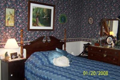 Peacock Room, most haunted room!
