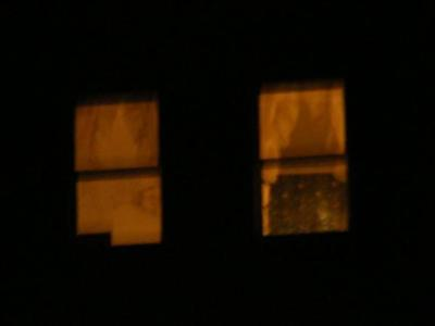 3rd Floor Ghost in the window, pic taken by guest!