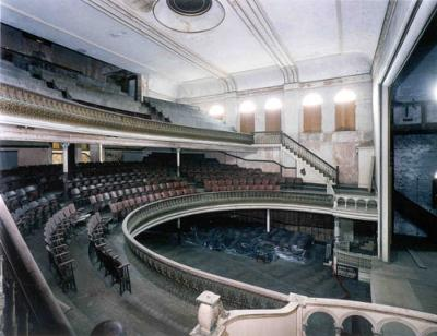 interior of theater