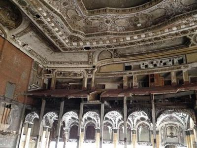 Old Michigan Theater in Downtown Detroit