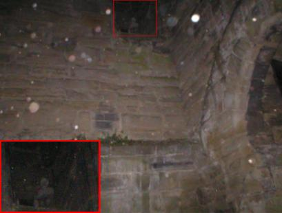 Ghost captured at Tutbury Castle?
