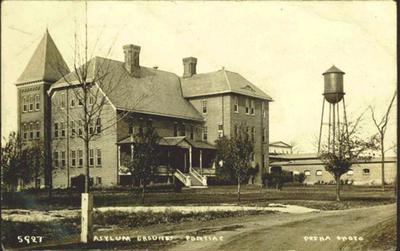 Clinton Valley Stae Mental Hospital in its different stages over the years