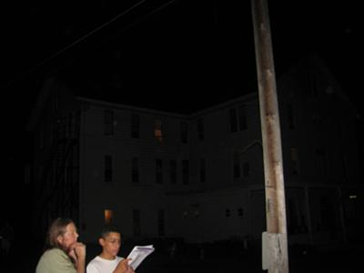at the top you can make out a mans face ,however look at the other orbs..this is maplewood hotel