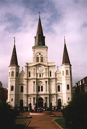 st louis cathedral in new orleans is it haunted