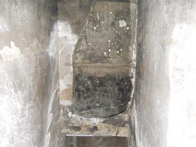 The spirit or anomally at bottom of shaft